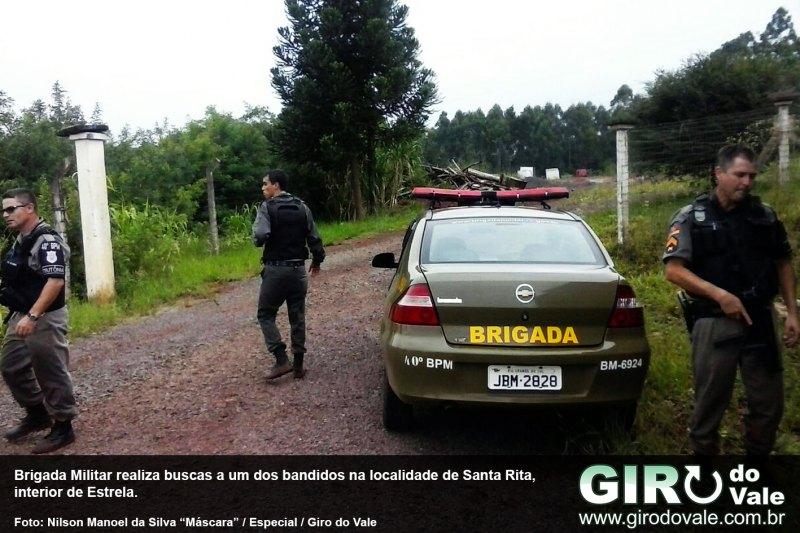Brigada Militar captura um dos assaltantes da lotérica de Bom Retiro do Sul