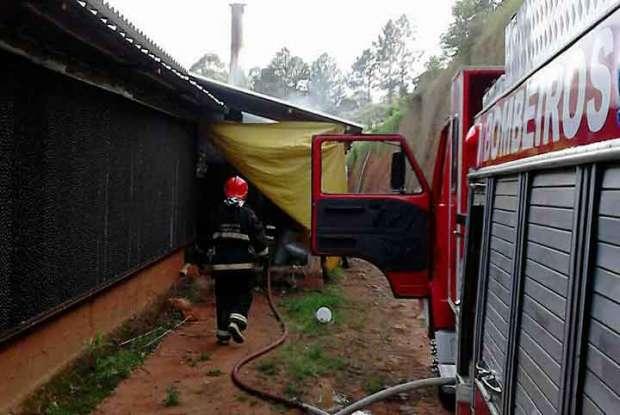 Foto: Divulgação / Bombeiros Voluntários