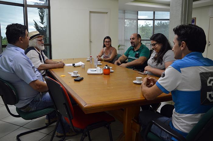 Reunião definiu os primeiros passos para a sequência do Programa. (Foto: Lautenir Azevedo Junior / Divulgação)