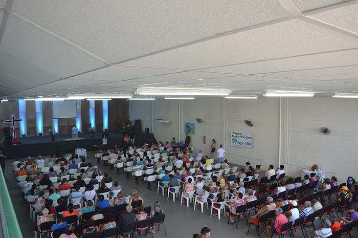Segundo a Administração Municipal, a audiência contou com a participação de aproximadamente 200 pessoas. (Foto: Lautenir Azevedo Junior / Divulgação)