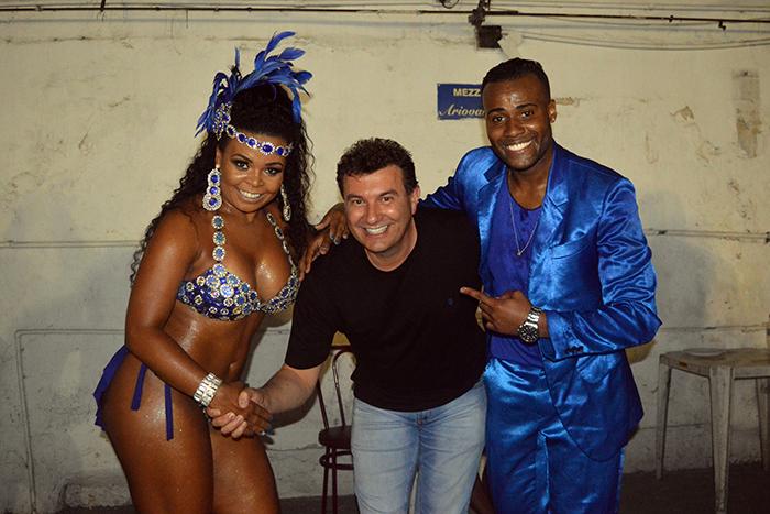 Prefeito fechou parceria com a Bambas da Orgia, de Porto Alegre. (Foto: Lautenir Azevedo Junior / Divulgação)