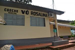Creche Vó Rosalina, está entre as instituições de ensino que suprem cerca de 70% da demanda na Educação Infantil. (Foto: Lautenir Azevedo Junior / Divulgação)