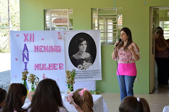 Secretária Cristiane se diz feliz em ver que o evento teve continuidade durante todos os anos, após a sua criação. (Foto: Lautenir Azevedo Junior / Divulgação)