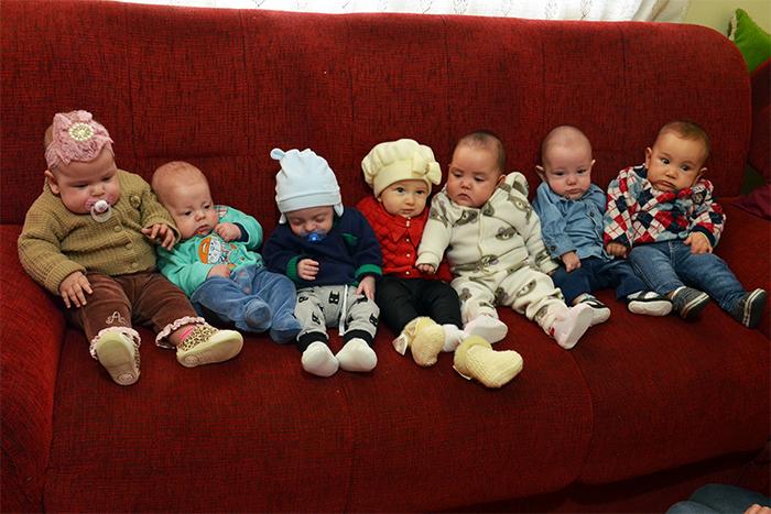 Os pequenos que fazem parte dessa bonita história. (Foto: Juliano Beppler / Giro do Vale)